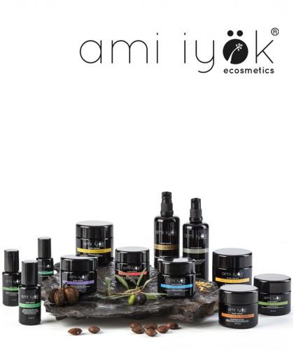 Ami Iyok Soin visage bio haut-de-gamme peau sensible végétal certifié Natrue cruelty free vegan