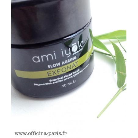 Ami Iyök Exfoliant visage bio végétal Natrue peau sensible douce lisse bambou coco