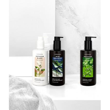 MADARA cosmétique bio Gel Douche savon liquide naturel végétal hydratant plantes beauté peau sensible
