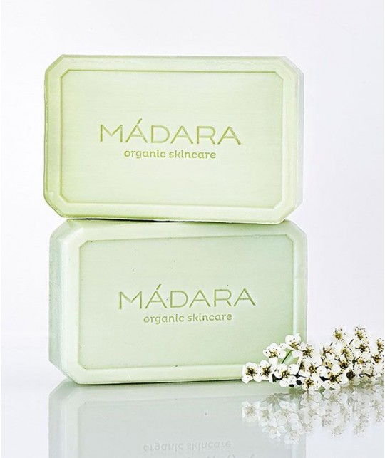MADARA organic cosmetics Birch & Algae Balancing Face Soap