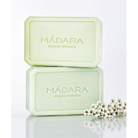MADARA  Savon bio Equilibrant Bouleau Algue fleurs plantes green beauté peau mixte sensible cosmétique végétale