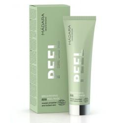 Madara cosmétique bio Masque Visage Peeling Eclat aux AHA fruits naturel green
