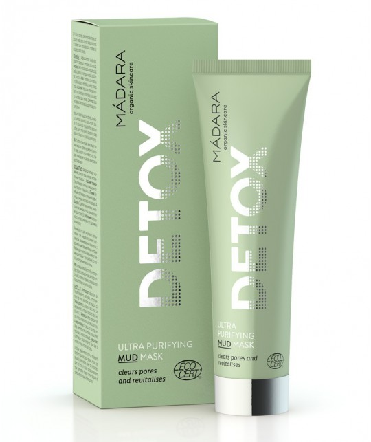 Madara beauté green Masque visage naturel peau grasse impure acné teint