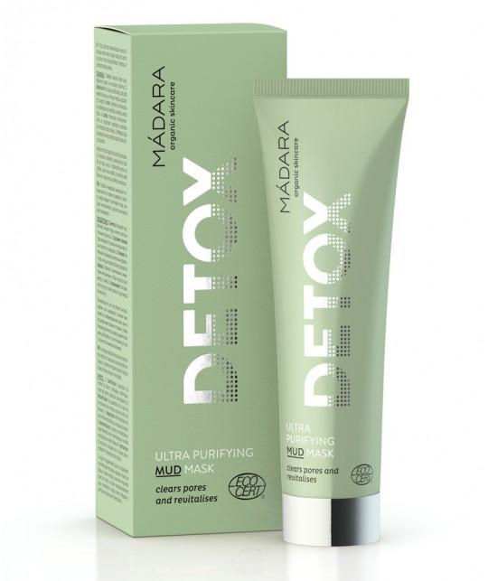 Madara cosmetics Ultra Purifying Mud Mask Detox 60ml organic