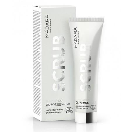 MADARA - Exfoliating Oil-To-Milk Scrub 60ml organic cosmetics