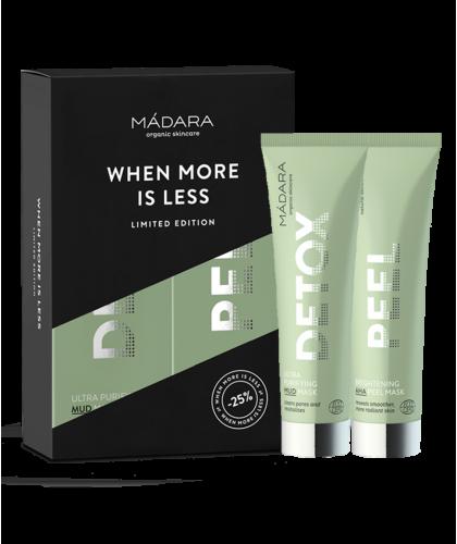 MADARA organic cosmetics - Duo Masques Visage bio AHA & DETOX