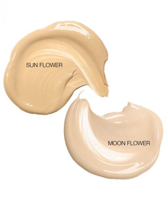 MADARA maquillage végétal BB crème légère swatch texture Sun flower beige doré