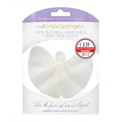 The Konjac Sponge Company - Lingette Démaquillante Konjac Tissu d'Ange