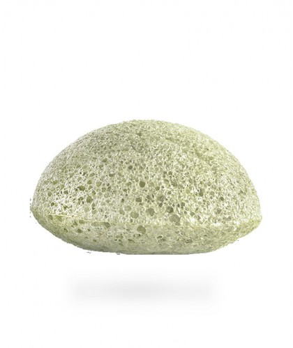 Konjac Sponge Co. Mini Konjac Face Sponge Puff with French Green Clay