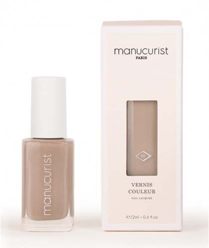 MANUCURIST Paris Vernis UV naturel Beige Tourterelle - Beige N°2 beauté green vegan made in france soin brillance