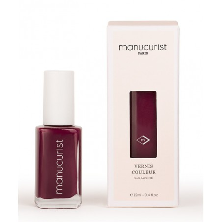 MANUCURIST Vernis UV Rouge d'Andrinople No 6 brillance miroir made in France