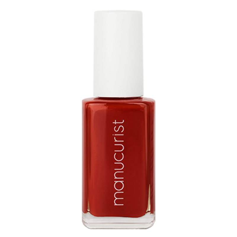 MANUCURIST - Vernis à Ongles Rouge Cardinal - Rouge N°5 brillance miroir made in France