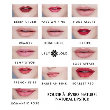 Lily Lolo - Rouge à Lèvres Naturel Temptation