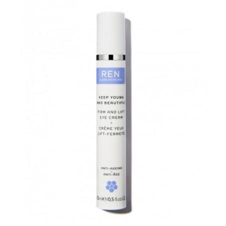 REN Skincare Crème Yeux naturelle Lift Fermeté contour poches cernes raffermissant anti-rides