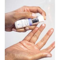 REN Skincare Shot Beauté Contour des Yeux lisser illuminer express flacon pompe naturel végétal cosmétique visage