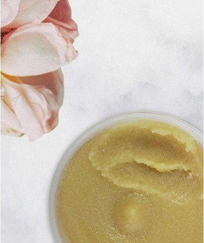 REN clean skincare - Rose du Maroc Gommage Corps scrub body au Sucre naturel végétal bio clean skincare