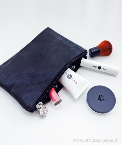 LILY LOLO Kosmetiktasche schwarz Makeup Mineral Cosmetics
