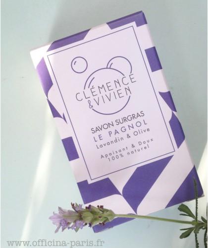 Clémence & Vivien - savon surgras le Pagnol lavande artisanal naturel vegan
