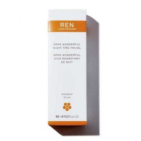 REN Wake Wonderful Night-Time Facial clean skincare vegan cruelty free