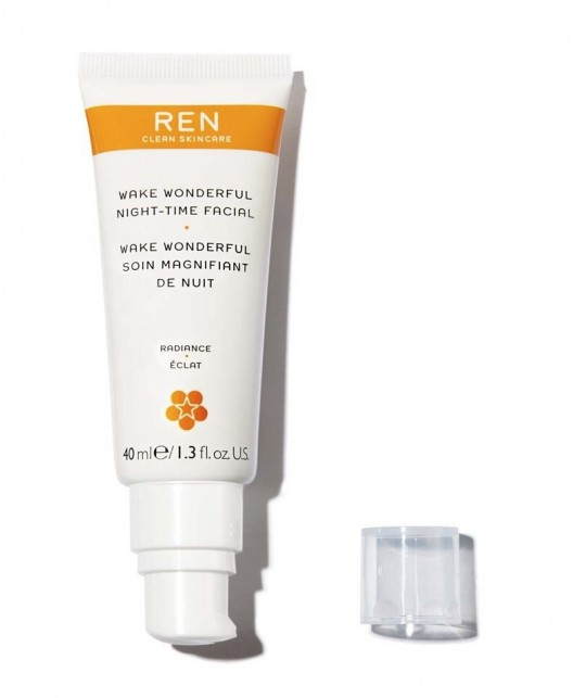 REN Wake Wonderful Night-Time Facial clean skincare vegan cruelty free natural cosmetics