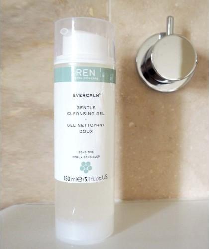 REN skincare EverCalm Gentle Cleansing Gel