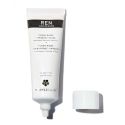REN skincare Flash Rinse 1 Minute Facial clean skincare vegan