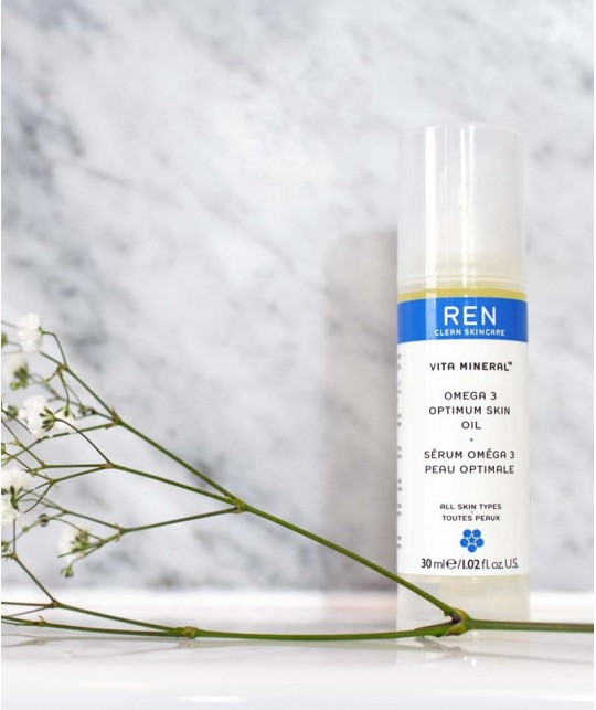 REN Skincare - Vita Mineral Sérum Omega 3 Peau Optimale
