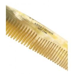 Abbeyhorn Petit Peigne en corne véritable cheveux barbe fait main poli main manufacture Abbeyhorn objet unique
