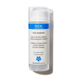 REN clean Skincare - Vita Mineral Crème Hydratante Complément Nutritionnel cosmétique naturel bio végétal vegan