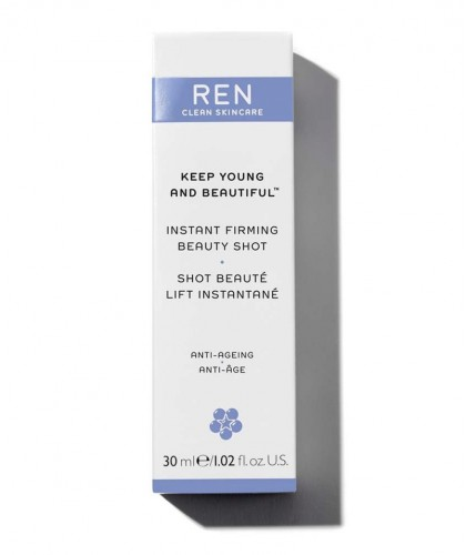 REN Keep Young And Beautiful Instant Firming Beauty Shot clean skincare
