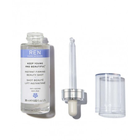 REN Keep Young And Beautiful Shot Beauté Lift Instantané clean skincare pipette