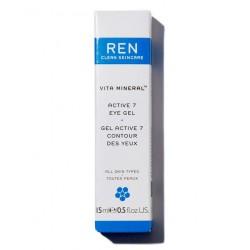 REN Vita Mineral Gel Contour des Yeux arnica décongestionnant cernes poches bio végétal