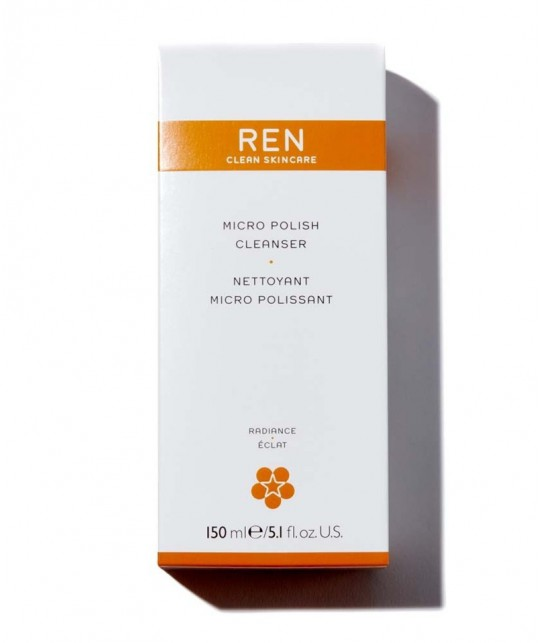 REN Exfoliant naturel teint terne végétal acides de fruits papaye clean skincare -
