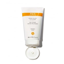 REN Nettoyant Micro Polissant acide de fruits aha gommage visage papaye  ananas clean Skincare -