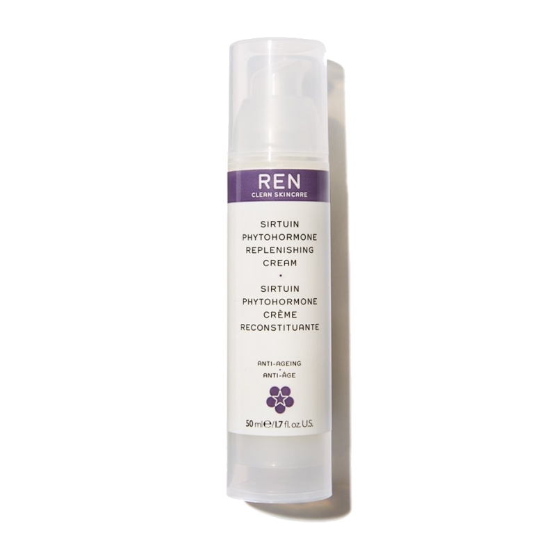 REN Sirtuin Phytohormone Replenishing Cream clean skincare
