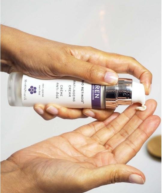 REN Bio Retinoid Anti-Aging Cream clean skincare vegan
