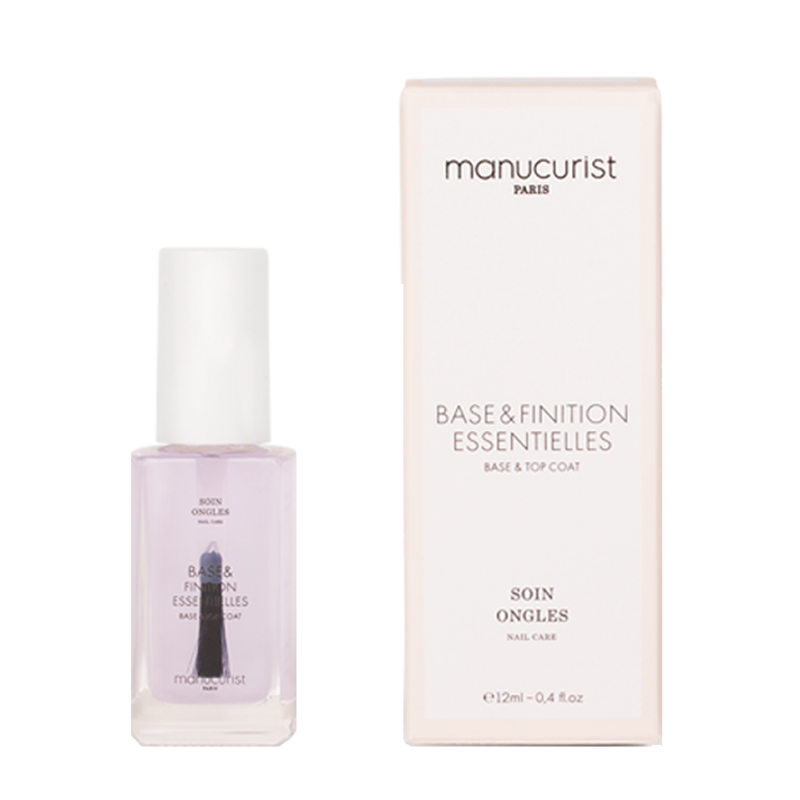 Manucurist Base et Finition Essentielles 2 in 1 base & top coat