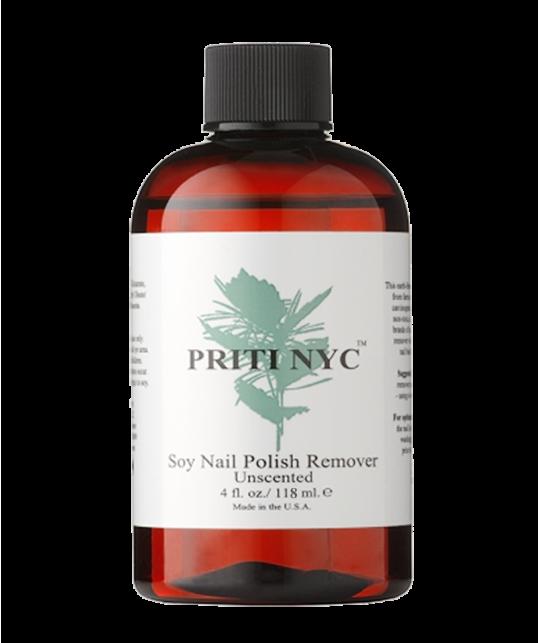 PRITI NYC - Dissolvant organique au Soja sans parfum (118 ml)