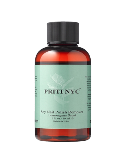 PRITI NYC - Dissolvant organique au Soja - parfum Lemongrass (59ml)