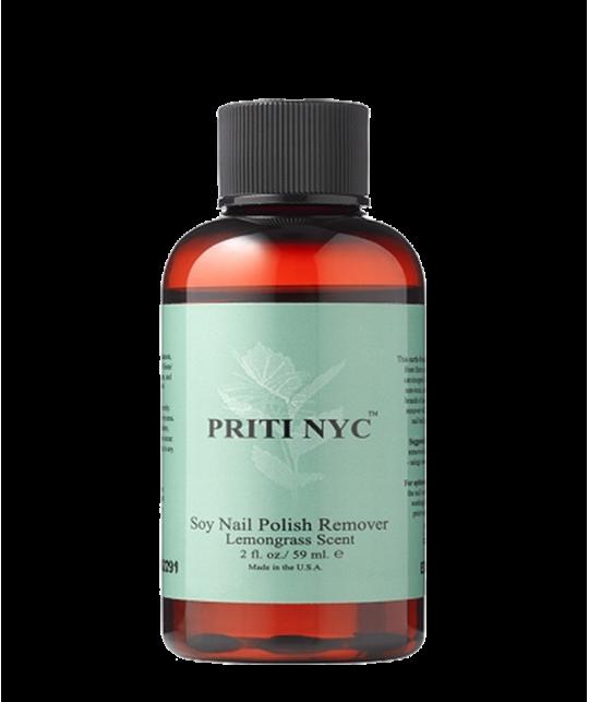PRITI NYC - Dissolvant organique au Soja - parfum Lemongrass (59ml)