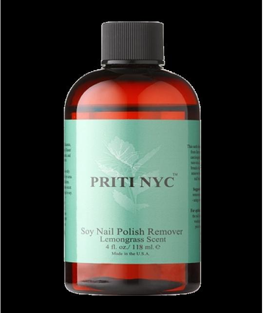 PRITI NYC - Dissolvant organique au Soja - parfum Lemongrass (118 ml)