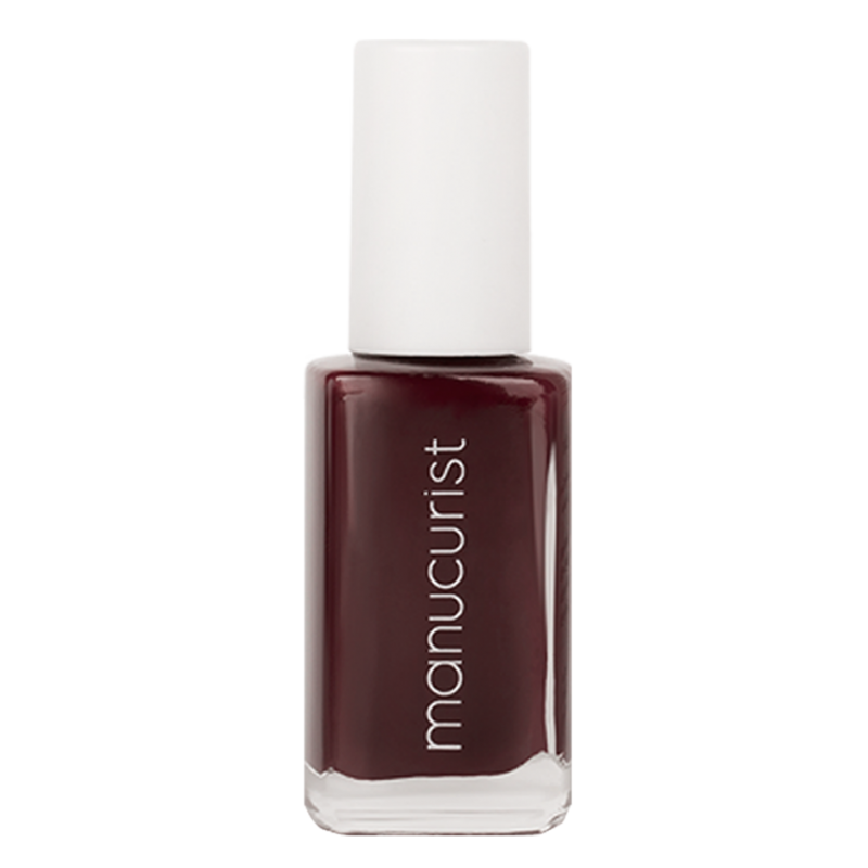 MANUCURIST Paris - Vernis UV Lie de Vin - Bordeaux N°1 ongles