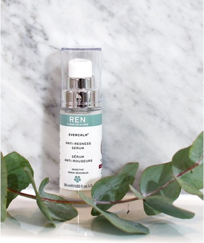 EverCalm Anti-Redness Serum REN clean skincare vegan cruelty free