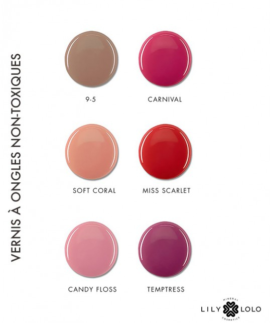 Lily Lolo maquillage minéral - Vernis à Ongles non-toxiques 8 free et vegan