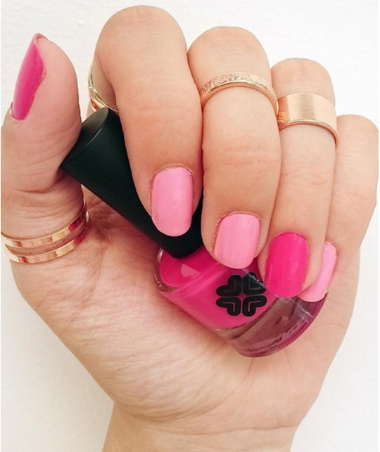 Lily Lolo maquillage minéral - Vernis à Ongles non-toxiques 8 free et vegan Candy Floss rose poudré