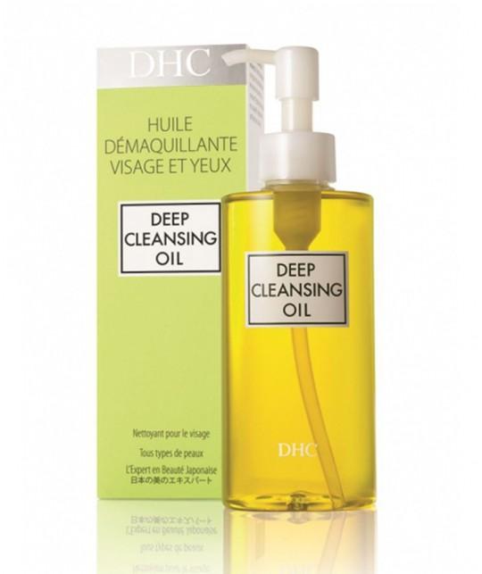 DHC Huile Démaquillante Deep Cleansing Oil rituel beauté japonais peau douce olive romarin
