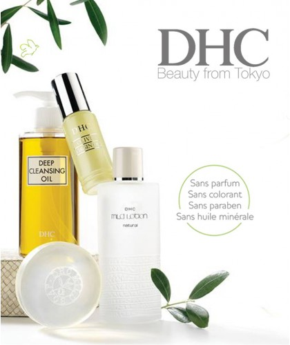 DHC l'expert en beauté japonaise rituel soin visage peau veloutée naturel végétal bestseller