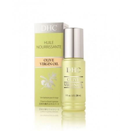 DHC Huile d'Olive serum soin visage protecteur nourrissant rituel beauté japonais vitamine E anti-oxyandants culte