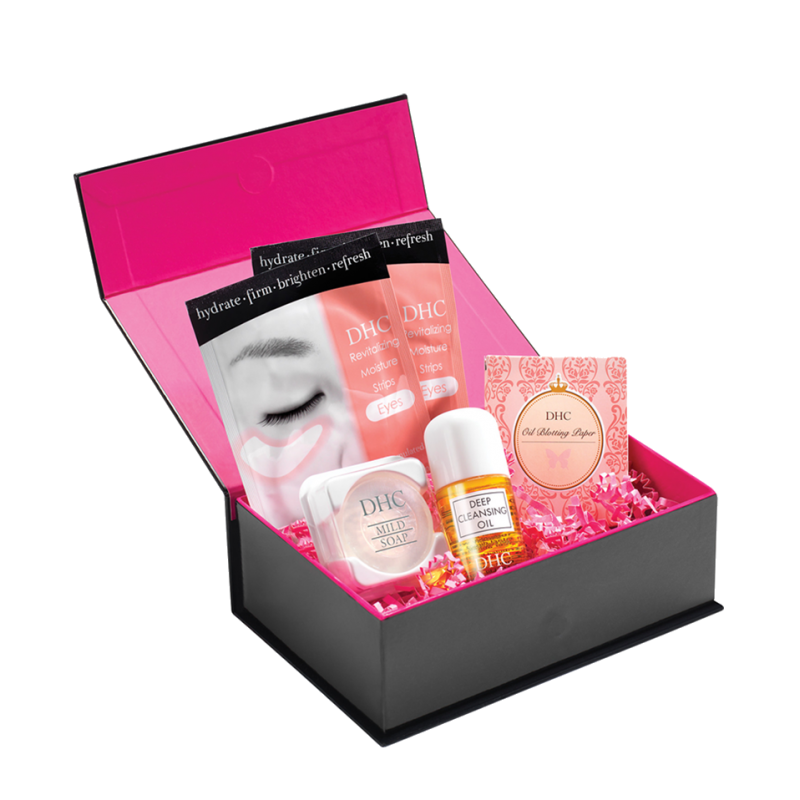 DHC skincare Beauty Bento box set skincare essentials
