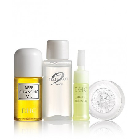 DHC Skincare Travel Set Sube Sube Olive Essentials Skincare